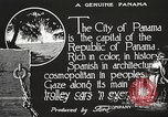 Image of streets of city Panama, 1919, second 16 stock footage video 65675060955