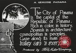 Image of streets of city Panama, 1919, second 17 stock footage video 65675060955