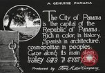 Image of streets of city Panama, 1919, second 19 stock footage video 65675060955