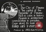 Image of streets of city Panama, 1919, second 20 stock footage video 65675060955