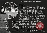 Image of streets of city Panama, 1919, second 22 stock footage video 65675060955