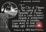 Image of streets of city Panama, 1919, second 23 stock footage video 65675060955