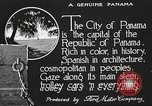 Image of streets of city Panama, 1919, second 24 stock footage video 65675060955