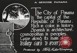 Image of streets of city Panama, 1919, second 26 stock footage video 65675060955
