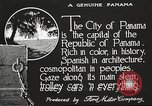 Image of streets of city Panama, 1919, second 27 stock footage video 65675060955
