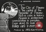 Image of streets of city Panama, 1919, second 28 stock footage video 65675060955