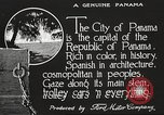 Image of streets of city Panama, 1919, second 30 stock footage video 65675060955