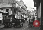 Image of streets of city Panama, 1919, second 49 stock footage video 65675060955