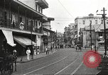 Image of streets of city Panama, 1919, second 51 stock footage video 65675060955