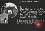 Image of arch of Saint Domingo Church Panama, 1919, second 2 stock footage video 65675060962