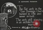 Image of arch of Saint Domingo Church Panama, 1919, second 6 stock footage video 65675060962
