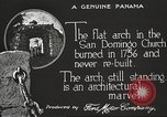 Image of arch of Saint Domingo Church Panama, 1919, second 9 stock footage video 65675060962