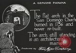 Image of arch of Saint Domingo Church Panama, 1919, second 10 stock footage video 65675060962