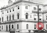Image of public building Panama, 1919, second 36 stock footage video 65675060968