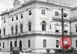 Image of public building Panama, 1919, second 37 stock footage video 65675060968