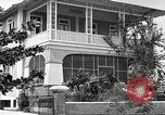 Image of large landscaped residences Panama, 1919, second 35 stock footage video 65675060969