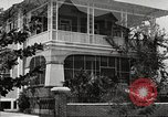 Image of large landscaped residences Panama, 1919, second 37 stock footage video 65675060969