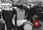 Image of sailors rolling barrels New York United States USA, 1922, second 8 stock footage video 65675060983