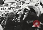 Image of sailors rolling barrels New York United States USA, 1922, second 35 stock footage video 65675060983