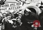 Image of sailors rolling barrels New York United States USA, 1922, second 41 stock footage video 65675060983