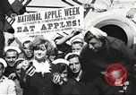 Image of sailors rolling barrels New York United States USA, 1922, second 46 stock footage video 65675060983