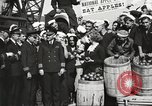 Image of sailors rolling barrels New York United States USA, 1922, second 53 stock footage video 65675060983