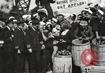 Image of sailors rolling barrels New York United States USA, 1922, second 54 stock footage video 65675060983