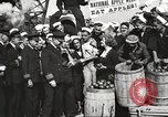 Image of sailors rolling barrels New York United States USA, 1922, second 55 stock footage video 65675060983