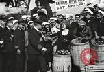 Image of sailors rolling barrels New York United States USA, 1922, second 56 stock footage video 65675060983