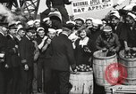 Image of sailors rolling barrels New York United States USA, 1922, second 57 stock footage video 65675060983