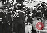 Image of sailors rolling barrels New York United States USA, 1922, second 60 stock footage video 65675060983