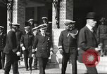 Image of Sir Eric Geddes at US Naval Academy Annapolis Maryland USA, 1918, second 24 stock footage video 65675060988