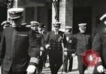 Image of Sir Eric Geddes at US Naval Academy Annapolis Maryland USA, 1918, second 27 stock footage video 65675060988