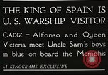 Image of King Alfonso XIII of Spain United States USA, 1919, second 2 stock footage video 65675060992