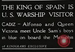Image of King Alfonso XIII of Spain United States USA, 1919, second 3 stock footage video 65675060992