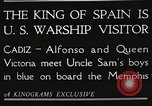 Image of King Alfonso XIII of Spain United States USA, 1919, second 4 stock footage video 65675060992