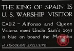 Image of King Alfonso XIII of Spain United States USA, 1919, second 7 stock footage video 65675060992