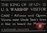 Image of King Alfonso XIII of Spain United States USA, 1919, second 8 stock footage video 65675060992