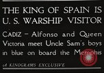 Image of King Alfonso XIII of Spain United States USA, 1919, second 9 stock footage video 65675060992