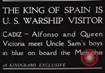 Image of King Alfonso XIII of Spain United States USA, 1919, second 11 stock footage video 65675060992