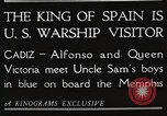 Image of King Alfonso XIII of Spain United States USA, 1919, second 12 stock footage video 65675060992