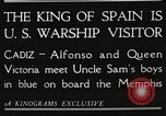 Image of King Alfonso XIII of Spain United States USA, 1919, second 13 stock footage video 65675060992