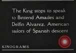 Image of King Alfonso XIII of Spain United States USA, 1919, second 42 stock footage video 65675060992