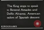 Image of King Alfonso XIII of Spain United States USA, 1919, second 44 stock footage video 65675060992