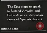 Image of King Alfonso XIII of Spain United States USA, 1919, second 45 stock footage video 65675060992