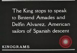 Image of King Alfonso XIII of Spain United States USA, 1919, second 46 stock footage video 65675060992