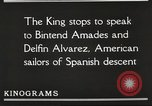 Image of King Alfonso XIII of Spain United States USA, 1919, second 47 stock footage video 65675060992