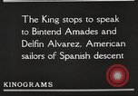 Image of King Alfonso XIII of Spain United States USA, 1919, second 48 stock footage video 65675060992