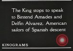 Image of King Alfonso XIII of Spain United States USA, 1919, second 49 stock footage video 65675060992