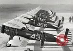 Image of P-36 Hawk aircraft of 8th Pursuit Group  Virginia USA, 1939, second 4 stock footage video 65675060998